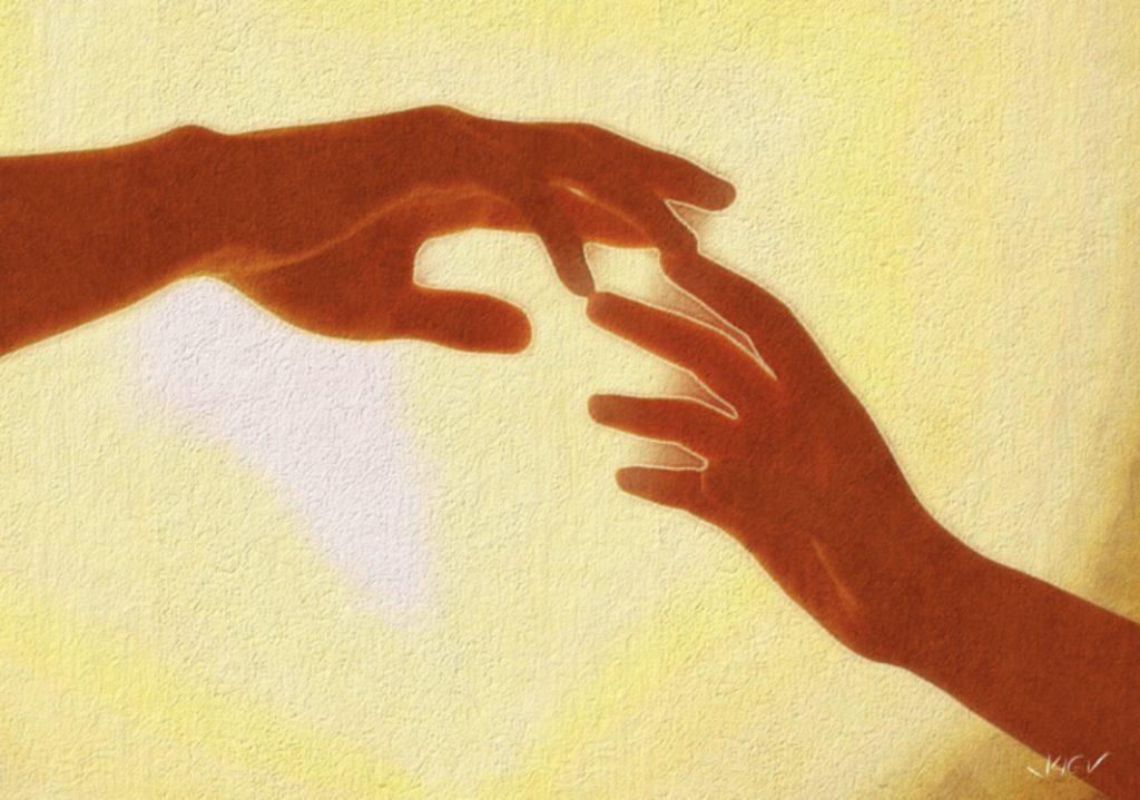He corrido a tu encuentro, y finalmente, cuando en el segundo anterior al último suspiro de la vida, he tocado tu mano, no he tenido tiempo de decirte que te quiero.