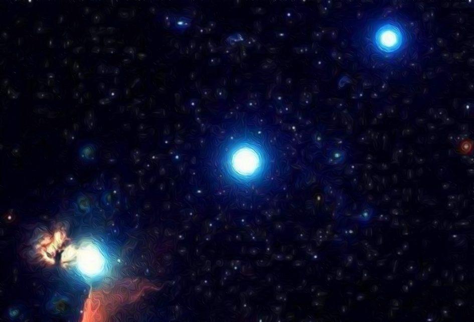 El Peregrino de Casiopea - Tres estrellas